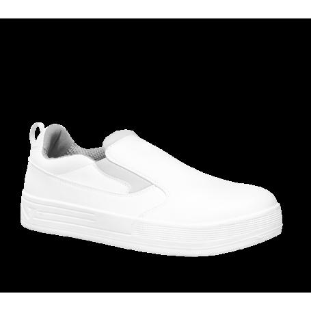 Chaussure de cuisine Auguste basse blanche S2