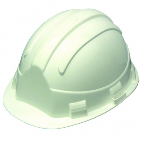 Casque chantier Opale blanc