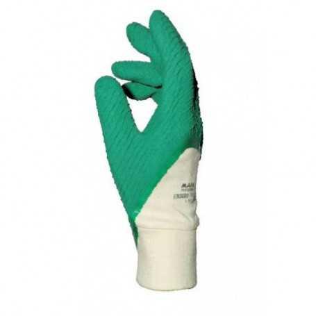 Gant enduro latex vert