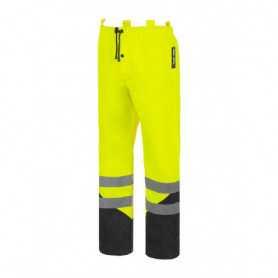 Pantalon de pluie haute visibilité speed jaune