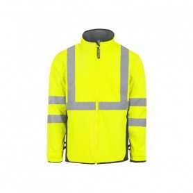 Blouson Softshell haute visibilité Falcon jaune
