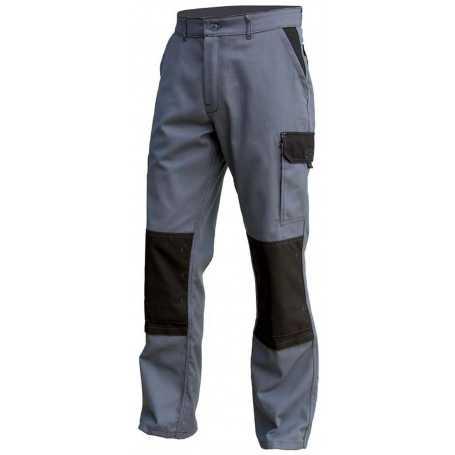 Pantalon de travail Typhon Gris Noir