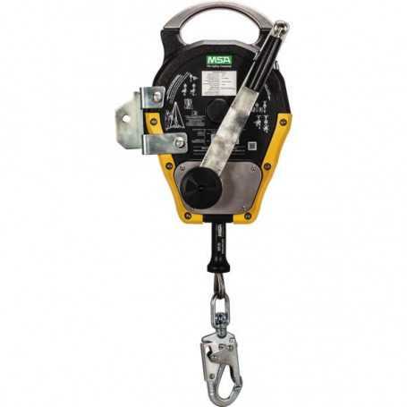 Treuil enrouleur sauveteur Workman® 15 m câble acier inoxydable