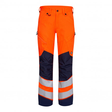 Pantalon safety HV orange marine