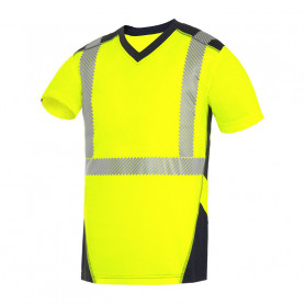 Tee-shirt haute visibilité Bali jaune