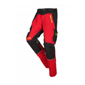 Pantalon anti-coupure 1SNC rouge