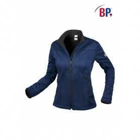 Softshell femme BP® bleu