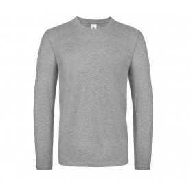 Tee-shirt manche longue gris