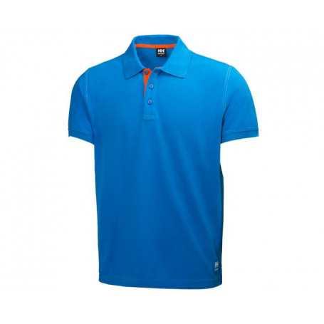 Polo Oxford bleu HH®