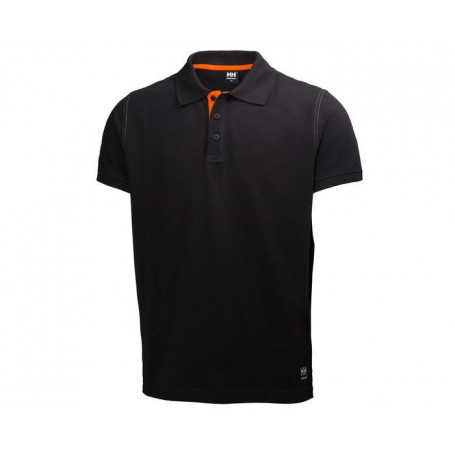 Polo Oxford noir HH®