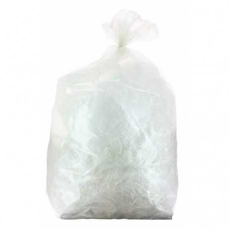 Sac poubelle transparent 110 L   35 µ