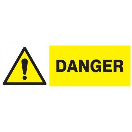 Signalétique «Danger» 330x200mm