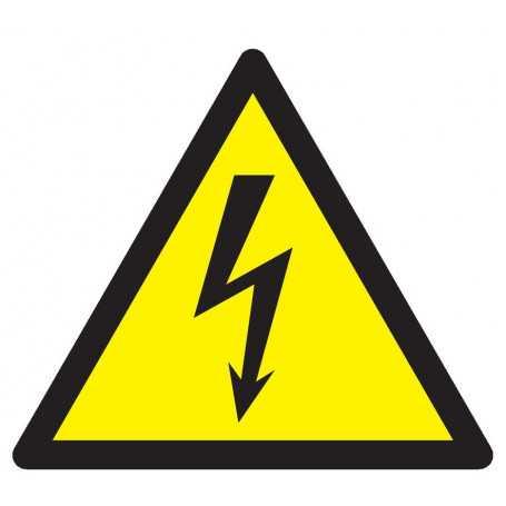 Signalétique «Danger électrique»