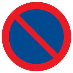 Signalétique «Défense de stationner»