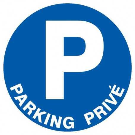Signalétique «Parking privé»