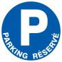 Signalétique «Parking réservé»