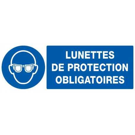 Signalétique «Port lunettes obligatoire»