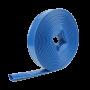 Tuyau aplatissable bleu PVC