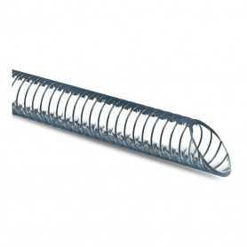 Tuyau Metal-flex translucide PVC