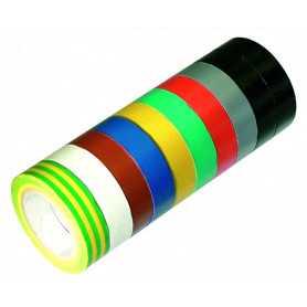 10 rubans adhésif multicolores