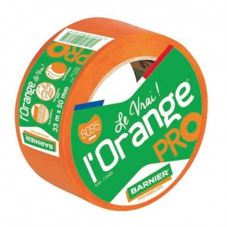 Ruban adhésif orange Barnier 33m