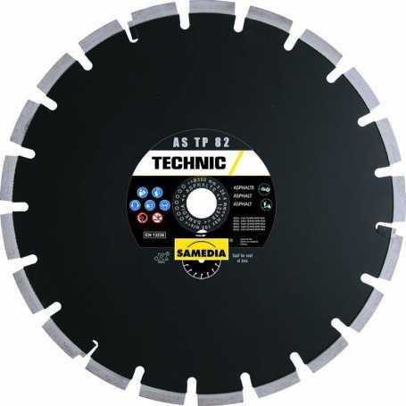 Disque diamant TECHNIC AS TP 82 | Asphalte