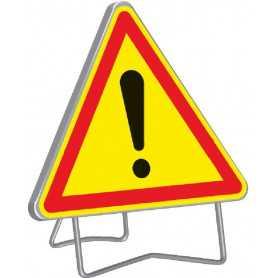 Panneau de signalisation temporaire autres dangers AK14