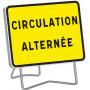 Panneau de signalisation temporaire circulation alternée KC1