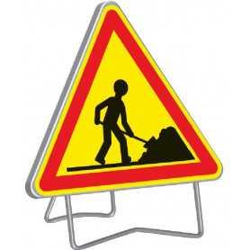 Panneau de signalisation temporaire de chantier AK5