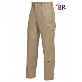 Pantalon de travail coton sable