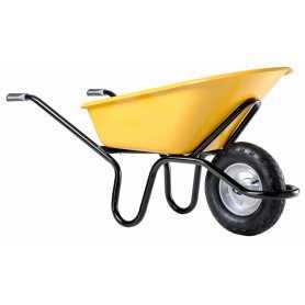 Brouette Bati-plus 110 peinte roue gonflée