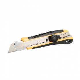Cutter bi-matière 25 mm avec blocage molette