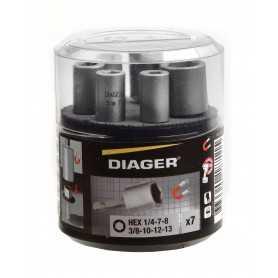 Kit 7 douilles magnétique pro